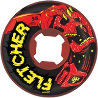 OJ III Fletcher Mortal Skateboard Wheels - red swirl (101a)