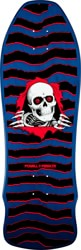 Powell Peralta Ripper 9.75 Geegah Skateboard Deck - blue