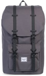 Herschel Supply Little America Backpack - charcoal/black native rubber