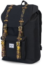 Herschel Supply Little America Mid Volume Backpack - black/tortoise shell