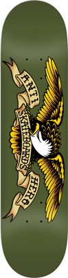 Anti-Hero Classic Eagle 8.38 Skateboard Deck - olive - view large