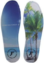 Footprint Kingfoam Gold Hi-Profile Insoles - beach