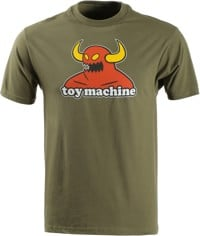 Toy Machine Monster T-Shirt - military