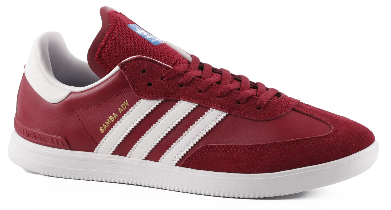 adidas samba adv skate shoes collegiate burgundy white. Black Bedroom Furniture Sets. Home Design Ideas