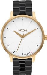 Nixon Kensington Watch - light gold/black - amuse society