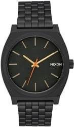 Nixon Time Teller Watch - all black/surplus