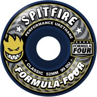 Spitfire Formula Four Classic Skateboard Wheels - midnight run (99d)