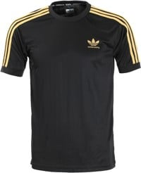Adidas Clima Club Jersey - black/gold metallic
