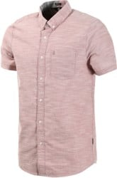 Volcom Everett Oxford S/S Shirt - mauve