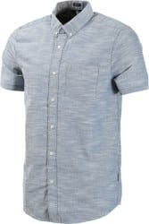 Volcom Everett Oxford S/S Shirt - smokey blue