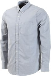Volcom Oxford Stretch L/S Shirt - smokey blue
