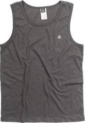 Volcom Solid Heather Tank - heather black
