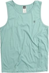 Volcom Solid Heather Tank - sea blue heather