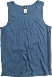 Volcom Solid Heather Tank - smokey blue heather
