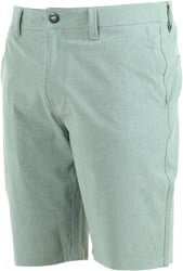 Volcom Frickin SNT Static Hybrid Shorts - sea green