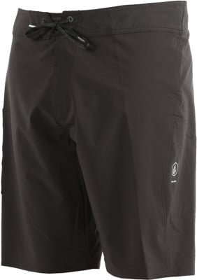 Volcom Lido Solid Mod Boardshorts - black - view large