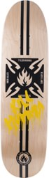 Black Label Tyler Mumma Kill Mumma 8.75 Skateboard Deck - natural stain