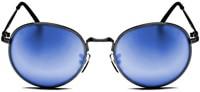 3526a7343e Happy Hour Riley Hawk Holidaze Sunglasses - black blue lens