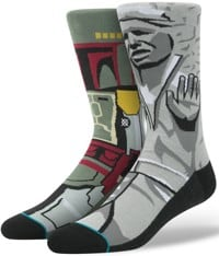 Stance Frozen Bounty Sock - grey