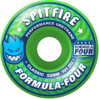 Spitfire Formula Four Classic Skateboard Wheels - gang green (101d)