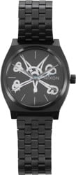 Nixon Time Teller Bones Watch - vato rat/black