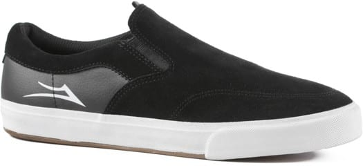 Lakai Owen VLK Slip-On Shoes - black suede - view large
