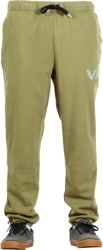 RVCA Swift Sweatpants - burnt olive
