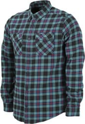 RVCA That'll Work Flannel - pirate black