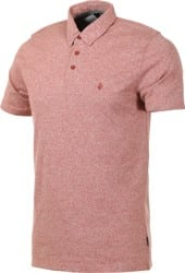 Volcom Wowzer Polo - dark clay