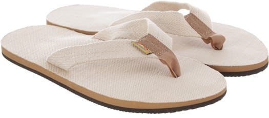 Rainbow Sandals Hemp Single Layer Eco Sandals - natural - view large
