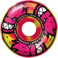 Spitfire Formula Four Classic Skateboard Wheels - pink/yellow swirl afterburners (99d)