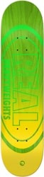 Real Heavyweights Green 8.5 Skateboard Deck