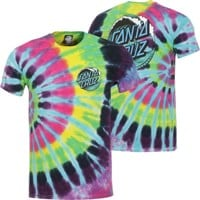 Santa Cruz Wave Dot T-Shirt - flashback