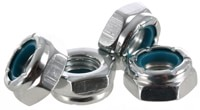 Modus Axle Nuts (Set Of 4) - silver