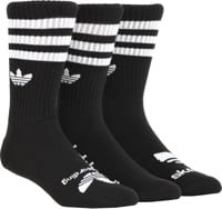 Adidas AS Skateboarding Crew 3-Pack Sock - black/white