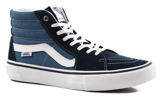 Vans Sk8-Hi Pro Skate Shoes - navy/stv navy (UltraCush HD) - view large
