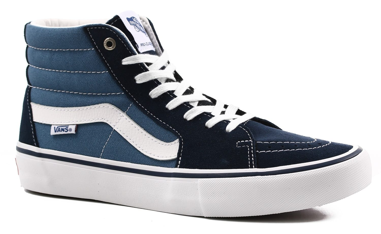 Vans Girls Shoes Navy Size