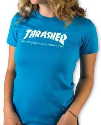 Thrasher Women's Skate Mag T-Shirt - teal - view large