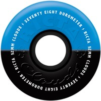 Ricta Cloud Skateboard Wheels - black/blue duotone (78a)