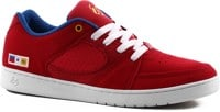 eS Accel Slim Skate Shoes - red/blue/white