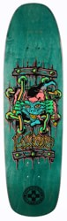 Black Label Emergency Lucero X2 8.88 Skateboard Deck - turquoise