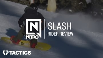Nitro Quiver Slash 2018 Snowboard Rider Review