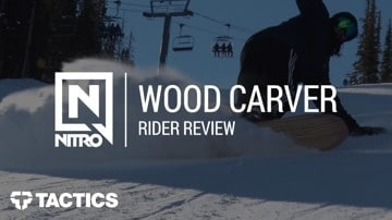 Nitro Wood Carver 2018 Snowboard Rider Review