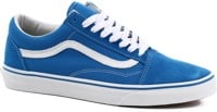 Vans Old Skool Skate Shoes - (suede/canvas) imperial blue/true white