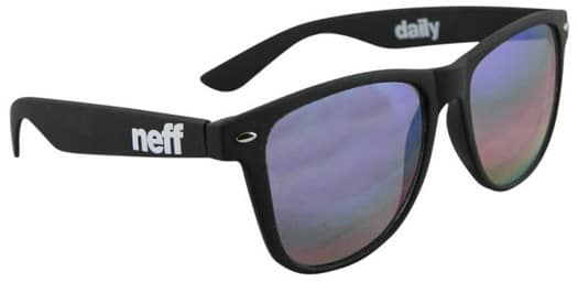 Neff Daily Sunglasses - black rainbow - view large