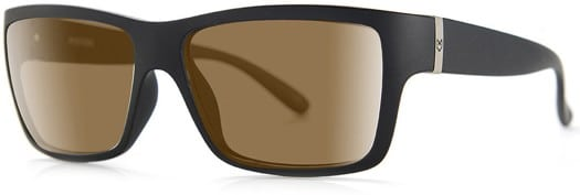 MADSON Piston Polarized Sunglasses - black matte/bronze polarized lens - view large