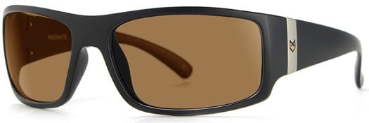 MADSON Magnate Polarized Sunglasses - black matte/bronze polarized lens - view large
