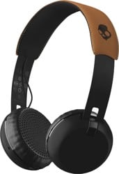 Skullcandy Grind Wireless Headphones - black/black/tan
