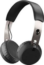 Skullcandy Grind Wireless Headphones - black/chrome/black