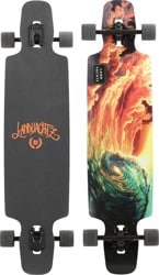 'Landyachtz Drop Carve Oceanspray 40' from the web at 'https://www.tactics.com/a/99pu/o/landyachtz-drop-carve-oceanspray-40-complete-longboard.jpg'
